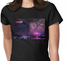 Boston strong as ever Womens Fitted T-Shirt