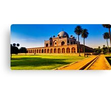 North India - Humayun's  tomb - New Delhi 2 Canvas Print