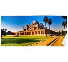 North India - Humayun's  tomb - New Delhi 2 Poster
