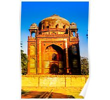 North India - Humayun's  tomb - New Delhi 3 Poster