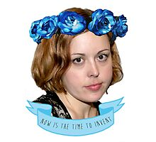 corin tucker - now is the time to invent!!!!!! Photographic Print