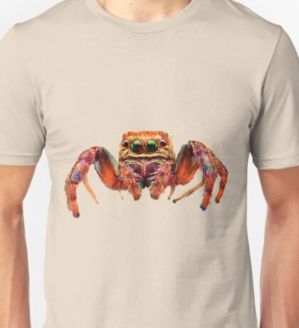 Spider Psychedelic Unisex T-Shirt