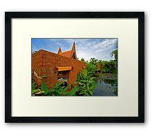 an incredible Thailand  landscape Framed Print
