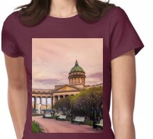 Kazan Cathedral, St. Petersburg Womens Fitted T-Shirt