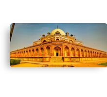 North India - Humayun's  tomb - New Delhi 5 Canvas Print