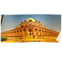 North India - Humayun's  tomb - New Delhi 5 Poster