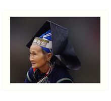 HILLTRIBE LADY - VIETNAM Art Print