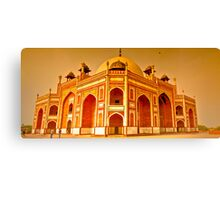 North India - Humayun's  tomb - New Delhi 6 Canvas Print