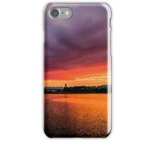 Colorful Sunset in Boston, Ma iPhone Case/Skin