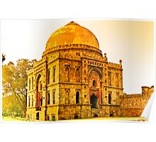 North India - Lodhi Gardens - New Delhi Poster