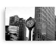5th Avenue and the Flatiron Building Metal Print