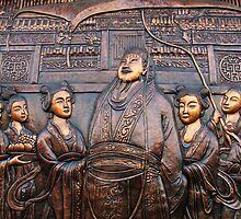 China 2009, Yangzhou, The Emperor by DaveLambert