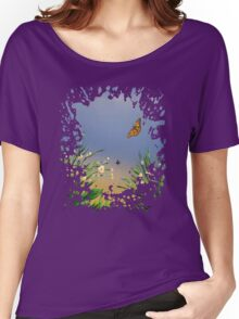 Butterfly Peace Women's Relaxed Fit T-Shirt