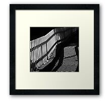 Crooked Road Framed Print