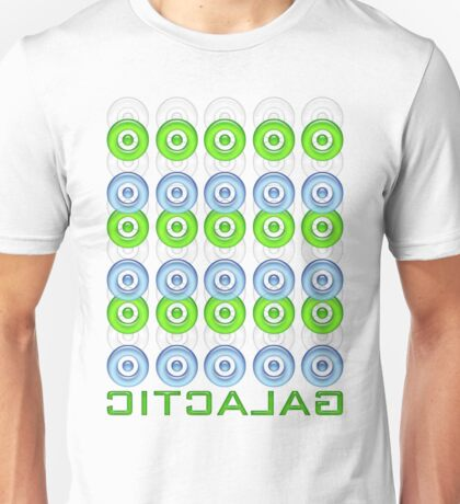 galactic in 3d Unisex T-Shirt