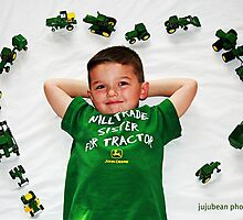 I Love John Deere by jujubean
