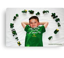 I Love John Deere Canvas Print