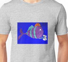 xbox gaming singular fish  Unisex T-Shirt