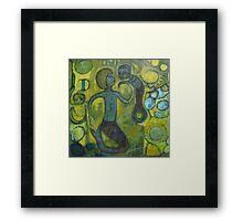 Burnished Sea Framed Print