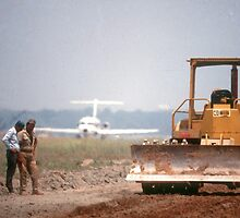 Runway builders by Larry  Grayam