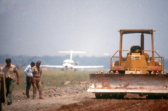 Runway builders by Larry  Grayam