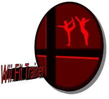 Smash Bros. Wii Fit Trainer Tag by goronmask