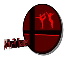 Smash Bros. Wii Fit Trainer Tag Photographic Print