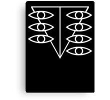 Seele Eyes (White) Canvas Print
