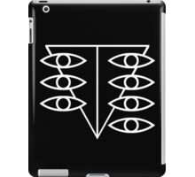 Seele Eyes (White) iPad Case/Skin