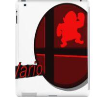 Smash Bros. Wario Tag iPad Case/Skin