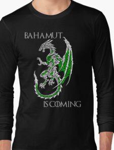 Bahamut Is Coming V2 Long Sleeve T-Shirt