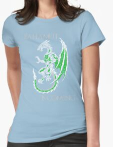 Bahamut Is Coming V2 Womens Fitted T-Shirt