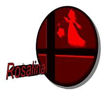 Smash Bros. Rosalina Tag Photographic Print
