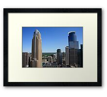 Minneapolis Skyline Framed Print