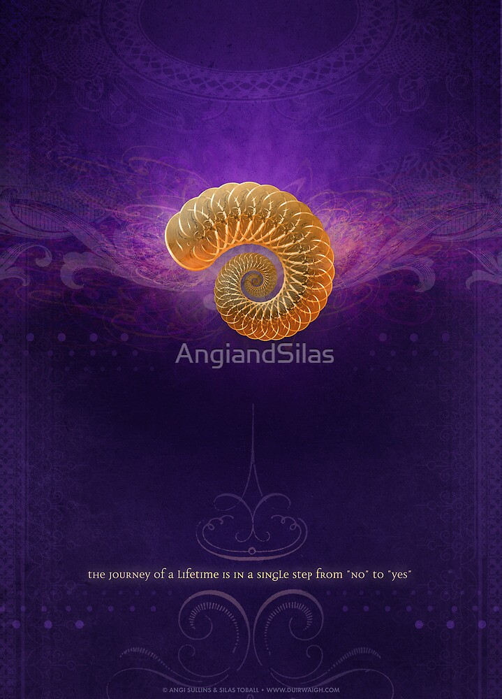 The Single Step from No to Yes by AngiandSilas