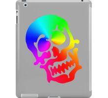 "Color ""Blob"" Skull iPad Case/Skin"