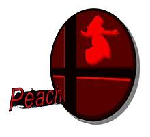 Smash Bros. Peach Tag Photographic Print