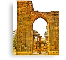 North India - Qutab Minar - New Delhi 5 Canvas Print