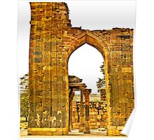 North India - Qutab Minar - New Delhi 5 Poster