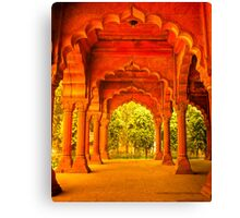 North India - Red Fort - New Delhi 1 Canvas Print