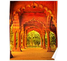 North India - Red Fort - New Delhi 1 Poster