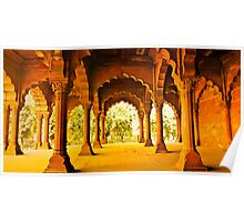 North India - Red Fort - New Delhi 2 Poster