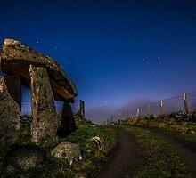 Legananny Dolmen by Paul Wharton