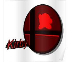 Smash Bros. Kirby Tag Poster