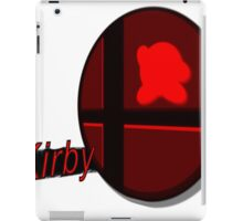 Smash Bros. Kirby Tag iPad Case/Skin