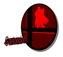 Smash Bros. Ganondorf Tag Photographic Print