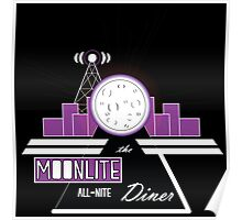 The Moonlite All-Nite Diner Poster