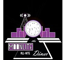 The Moonlite All-Nite Diner Photographic Print