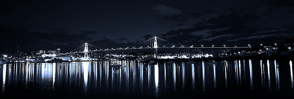 Night Bridge by Cameron  Allen Lamond