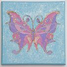 Purple Butterfly by Nursery Wall Decor